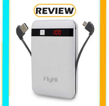 FlyHi 10,000mAh LCD Power Bank