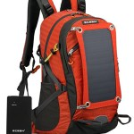 Eceen 7W Solar Powered Camping Backpack