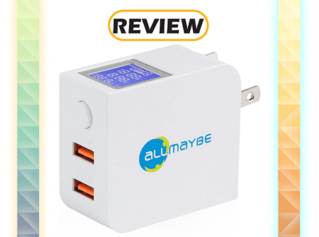 AllMaybe EU2 2-Port Quick Charge 3.0 Wall Charger Review