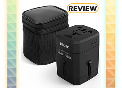 BESTEK Universal Travel Adapter Review