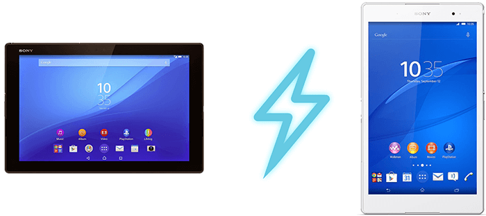 Best Chargers for Sony Xperia Z4 Tablet and Xperia Z3 Tablet