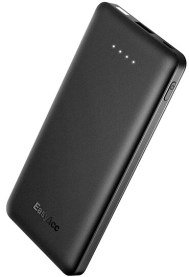 EasyAcc 10,000mAh Slim Portable Charger with Quick Charge