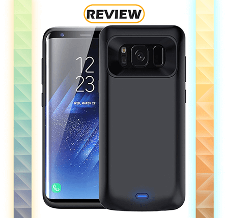 Galaxy S8 5,000mAh VPROOF Battery Case Review