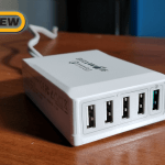 BlitzWolf 5-Port Desktop Charger with Quick Charge 3.0