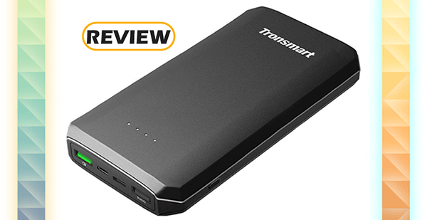 Tronsmart 20,000mAh Quick Charge 3.0 / USB-C Portable Charger Review