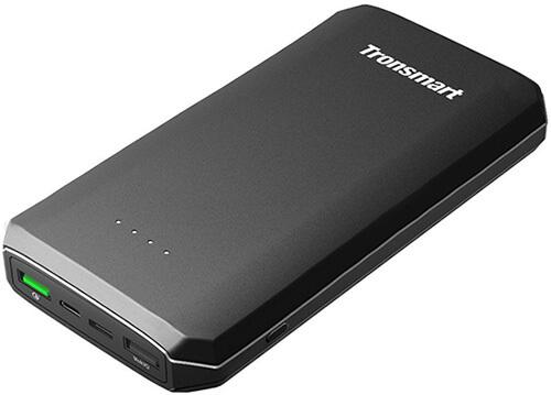 Tronsmart 20,000mAh Quick Charge 3.0 USB C Portable Charger