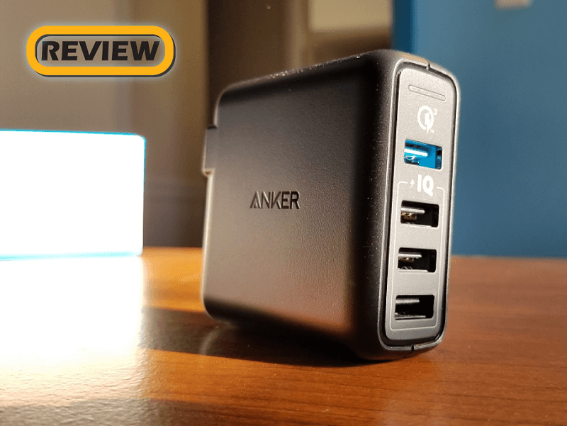 Anker PowerPort Speed 4 USB Wall Charger with Quick Charge 3.0