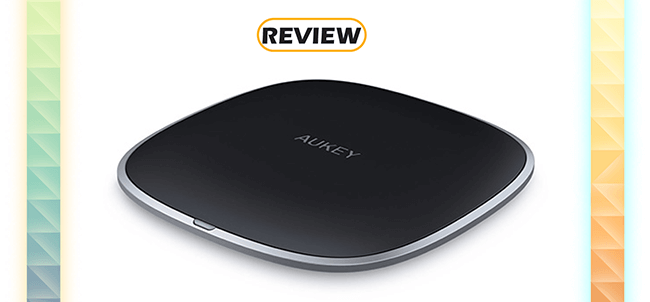 Aukey LC-C5 Graphite Wireless Charger Pad Review