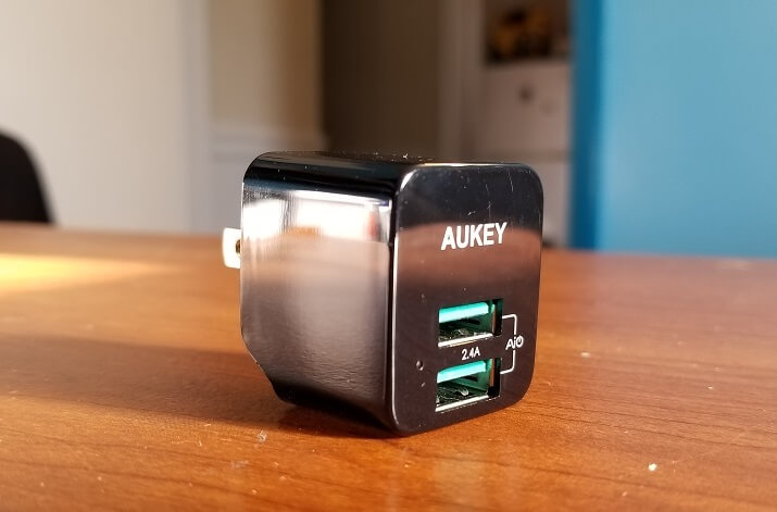 Dual-Port USB Wall Charger