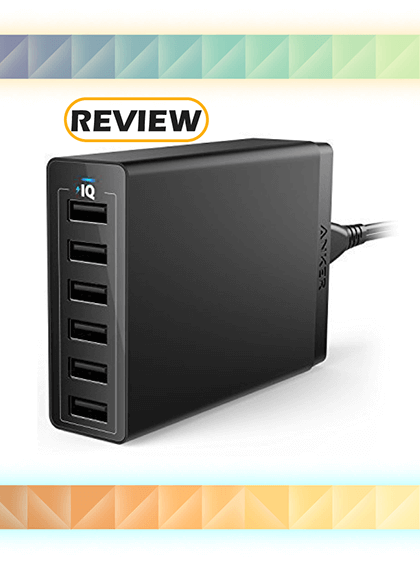 Anker PowerPort 6 Desktop Wall Charger Review