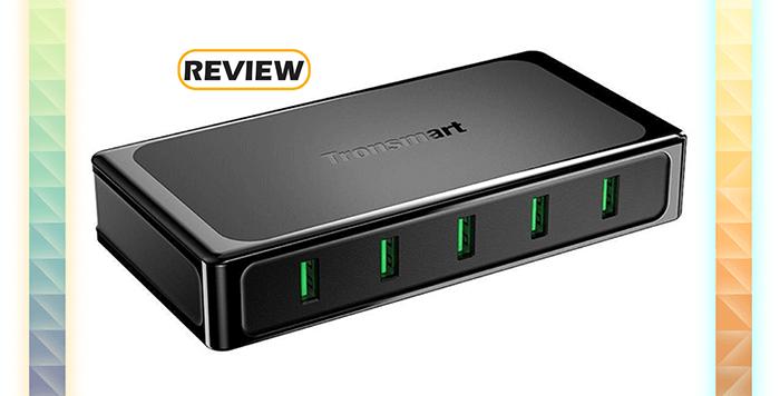 Tronsmart U5TF Titan Plus 5-Port Quick Charge Desktop Charger Review