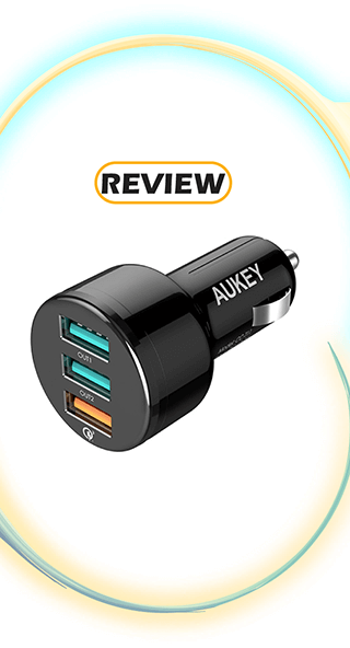 Aukey 3-Port Car Charger with Quick Charge Review