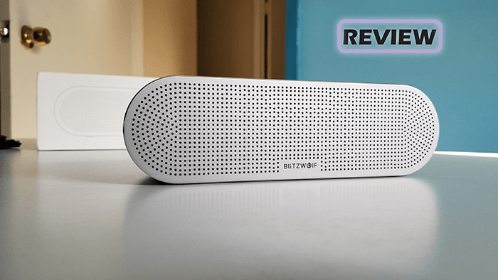 BlitzWolf AS1 Aluminum Bluetooth Speaker Review