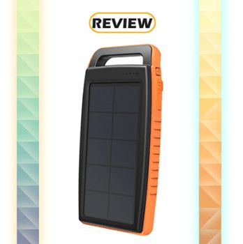RAVPower 2-port 15,000mAh Solar Power Bank Review