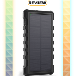 RAVPower 25,000mAh Solar Power Bank with USB-C Port