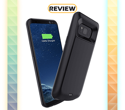 Elebase Galaxy S8 5,000mAh Battery Case Review