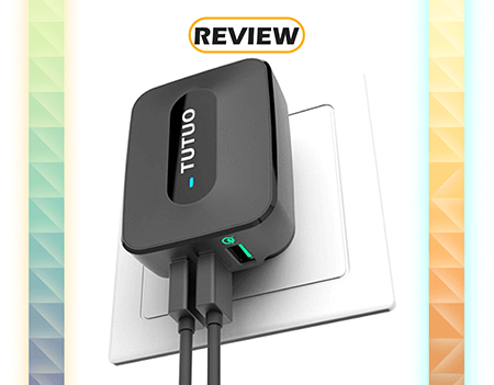 TUTUO 3-Port Quick Charge Wall Charger Review