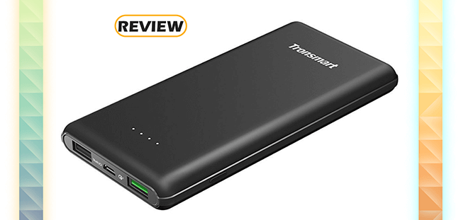 Tronsmart 10,000mAh Quick Charge Huawei Fast Charging Power Bank Review