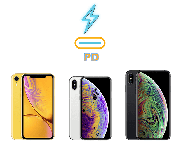 Best Power Delivery Fast Chargers for iPhone XS XS Max