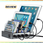 Simicore 4-Port Charging Station Dock & Organizer Review