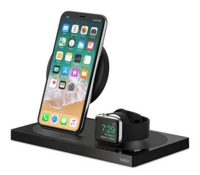 Belkin Boost-Up Wireless Charging Dock for iPhones & Apple Watch