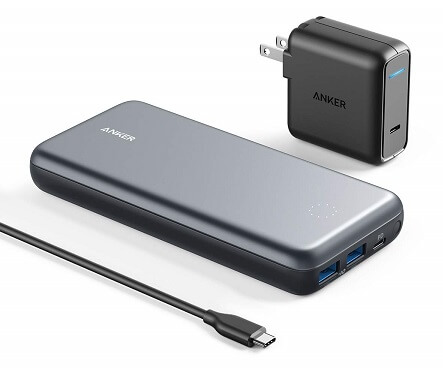 Anker PowerCore+ 19000 Power Delivery USB-C Hub Portable Charger
