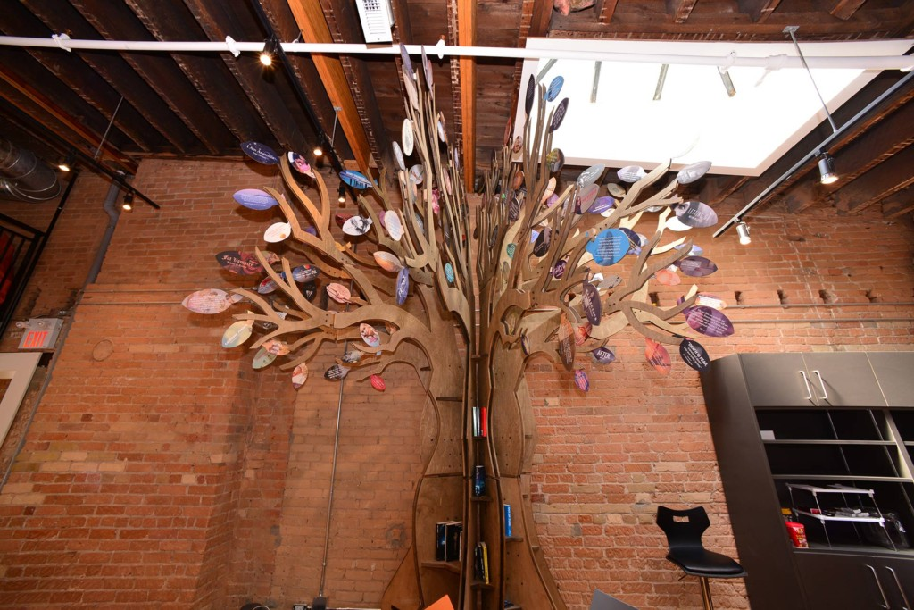 The Wattpad Tree highlights stories that have been published in print