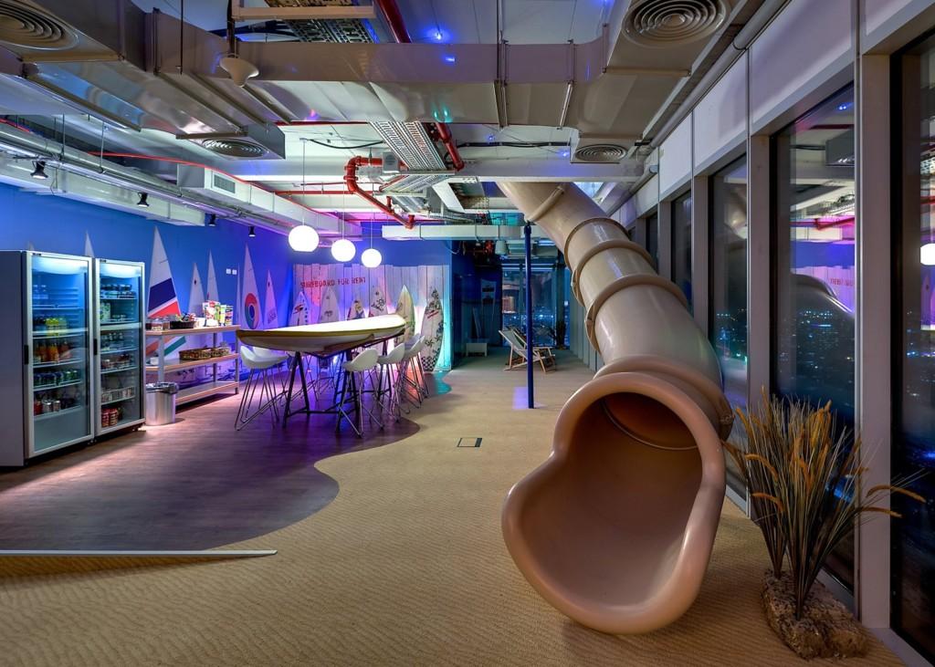 Google's Tel Aviv Office (Image: Dezeen)