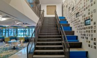 Moving and Connecting People: Office Staircases - ChargeSpot