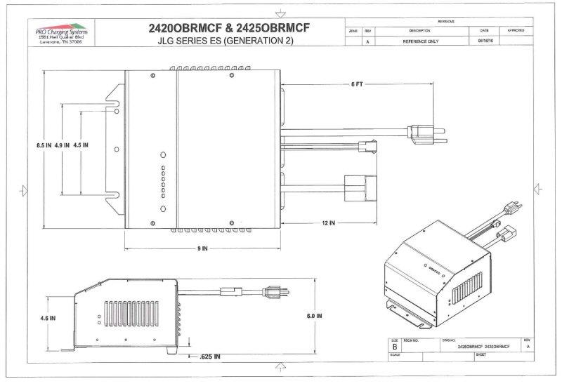 36 Volt Fork Lift Battery Charger Wiring Diagram I2425obrmcf Eagle Performance Scissor Lift Battery Charger