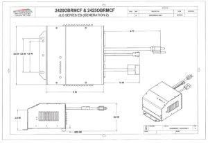 I2425OBRMCF Eagle Performance Scissor Lift Battery Charger
