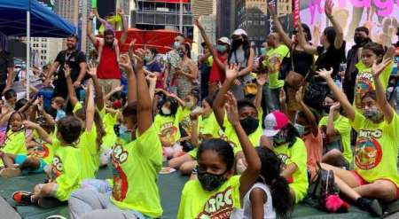 Metro World Child Sunday School Program Takes to New York Streets as City Reopens