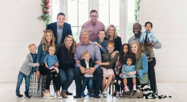 The Morris family.