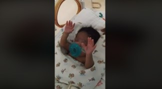 WATCH: Mother's Video of her Premature Baby Raising her Hands in Hospital while she Sings J.J. Hairston Goes Viral