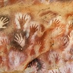 Ancient Cave of Hands in Patagonia Argentina