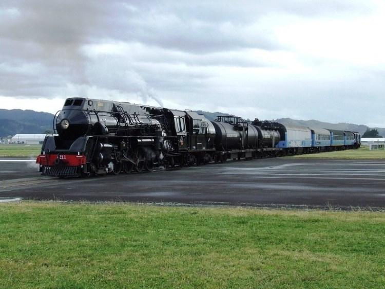 Gisborne Airport Railway Line Intersecting the Runway in New zealand 3
