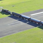 Gisborne Airport; Railway Line Intersecting the Runway
