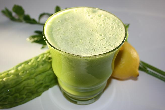 Green-Bitter-Melon-Juice