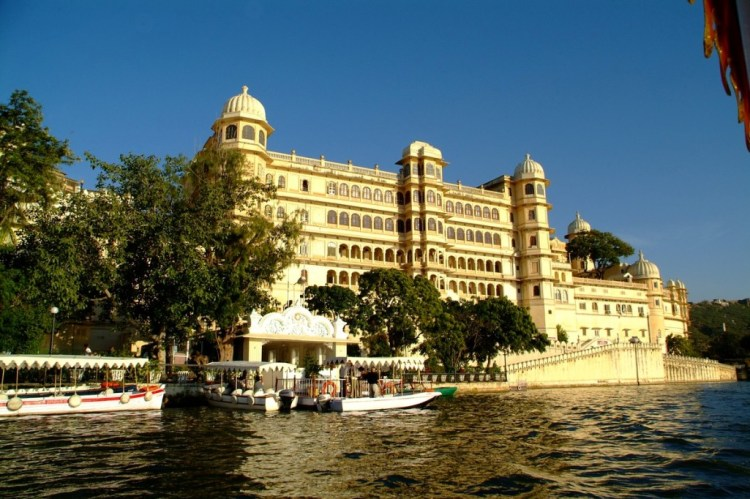 The Floating Lake Palace of Udaipur