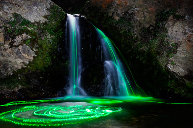 Stunning luminous landscapes pictures of California Waterfalls