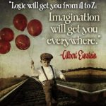 Logic will get you from A to Z, Imagination will get you Everywhere