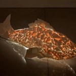 Stunning Illuminated Fish Lamps by Frank Gehry