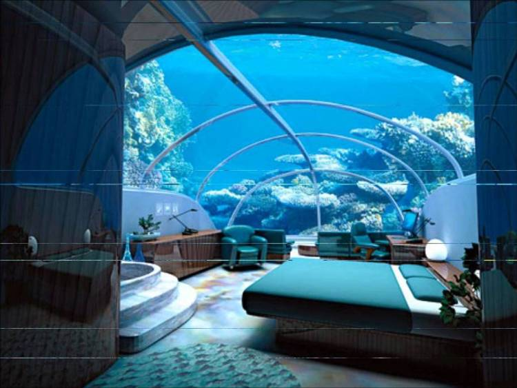 Hydropolis Underwater Hotel is a beautiful concept for your summer vacation.