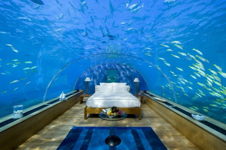 This fabulous Hydropolis Underwater hotel has several places for your perfect holiday, as it sees the real sea beauty under beneath the sea.