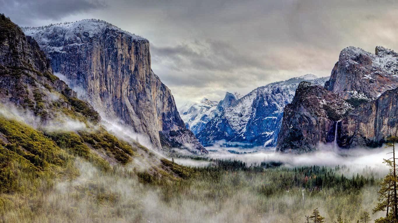 Lost Girl Wallpaper Hd Yosemite Valley Sierra Nevada Of California Usa