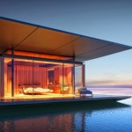 Modern Floating House is the Perfect Relaxing Retreat