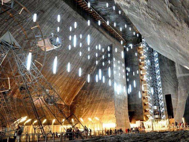 Salina Turda Salt Mines transform to History Museum7
