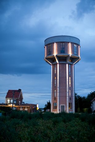 Water Tower Converted Into Livable Home Charismatic