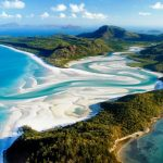 White Sandy Beach of Australia is White Haven on Earth
