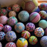 92 Years old Grandmother Share Amazing Embroidered Artwork of Temari